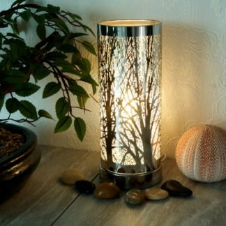 White-Silver aroma touch lamp