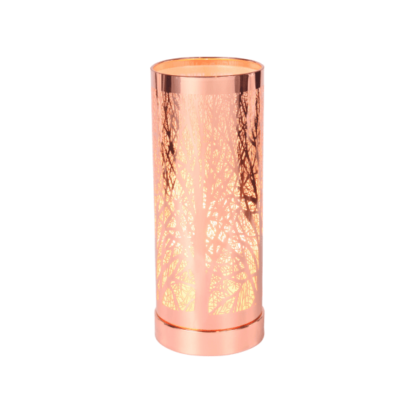 Rose Gold Aroma Lamp for use with wax melts or aroma oils
