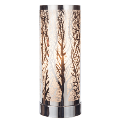 White-Silver Aroma Touch Lamp Trees