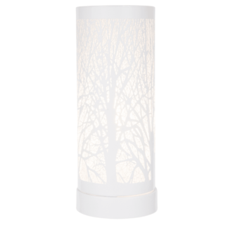 White Tree aroma lamp for use with wax melts and aroma oils