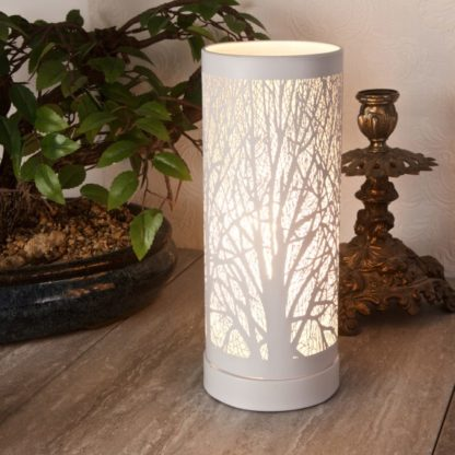 White Tree aroma lamp for use with wax melts and oil burners home decor