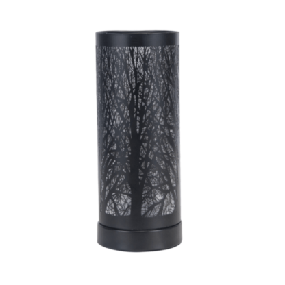 Black Tree aroma lamp for use with wax melts or aroma oils