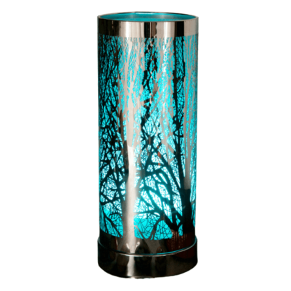 Colour changing silver tree wax and oil burner