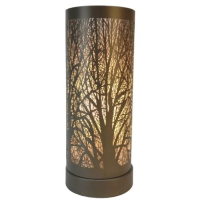 Grey Tree Aroma Lamp for use with wax melts or aroma oils