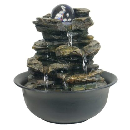 Heart of nature indoor water fountain home decor